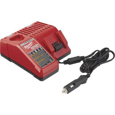 Milwaukee M18/M12 18 Volt and 12 Volt Lithium-Ion DC Vehicle Battery Charger