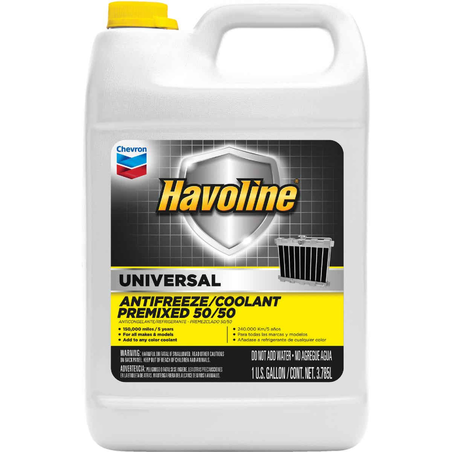 Havoline Universal Gallon 50/50 Pre-Diluted -34 F to 265 F Automotive Antifreeze Image 1