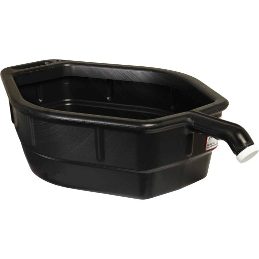 Midwest Can 5 Gal Black Polyethylene Oil Drain Pan