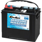 Deka Marine Master 12-Volt 550 CCA Deep Cycle/Starting Marine/RV Battery, Left Front Positive Terminal Image 1