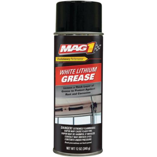 LubriMatic 12 Oz. Aerosol White Lithium Grease