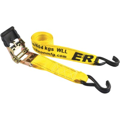 Erickson 2 In. x 10 Ft. 4000 Lb. Professional Series Ratchet Strap (2-Pack)