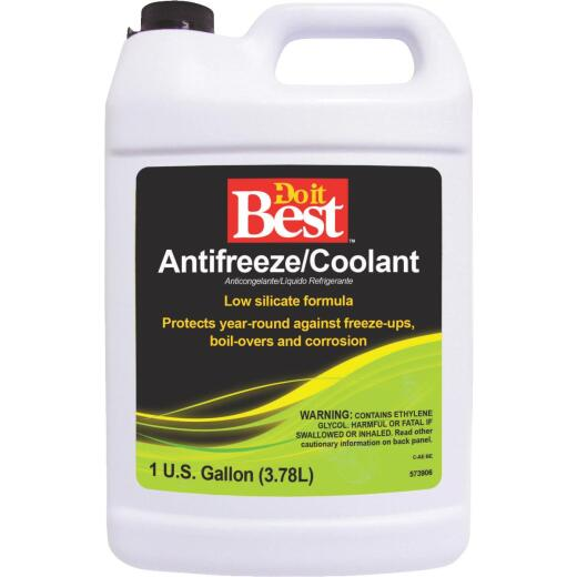 Do it Best Gallon Concentrate -62 F to 274 F Conventional Automotive Antifreeze