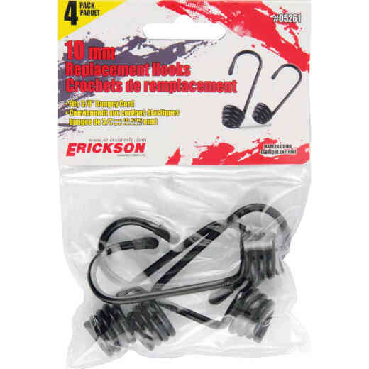 Erickson 10mm Metal Cord Hook