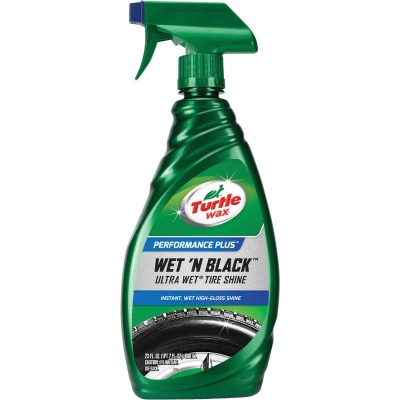 Turtle Wax Wet 'N Black 23 Oz. Trigger Spray Tire Shine