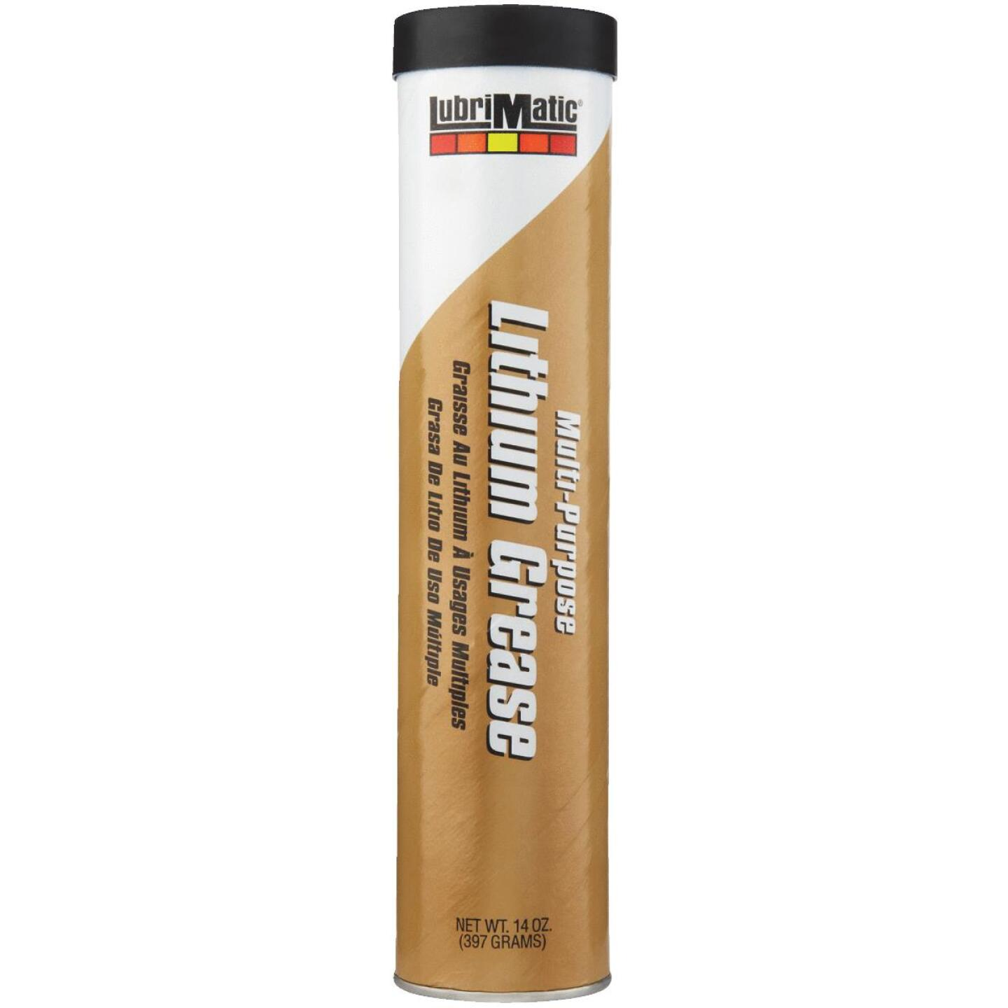 LubriMatic 14 Oz. Cartridge Multi-Purpose Lithium Grease Image 1