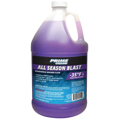 Prime Guard All Season Blast 1 Gal. -35 Deg F Deicer Windshield Washer Fluid
