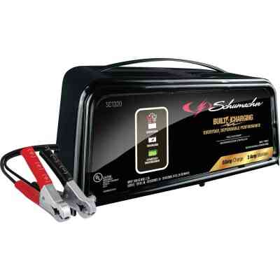 Schumacher Manual 12V 6A Auto Battery Charger