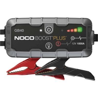 NOCO Boost Plus 1000 Amp 12-Volt UltraSafe Lithium Jump Start System