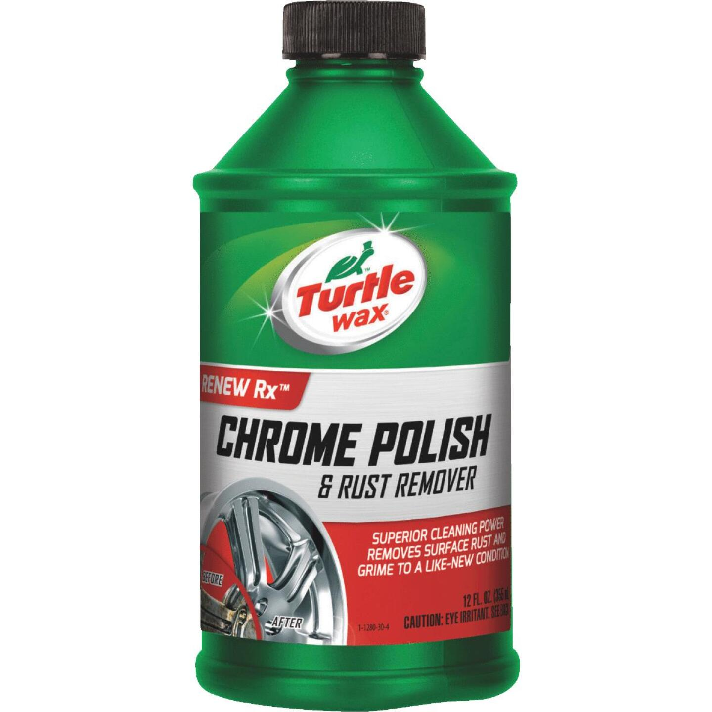 Turtle Wax RENEW Rx Liquid 12 oz Chrome Polish Image 1