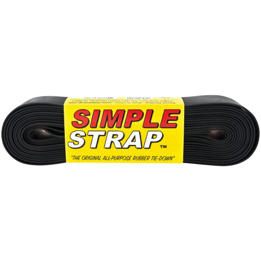 Simple Strap 40 mm x 20 Ft. Black Regular Duty Tie-Down Strap