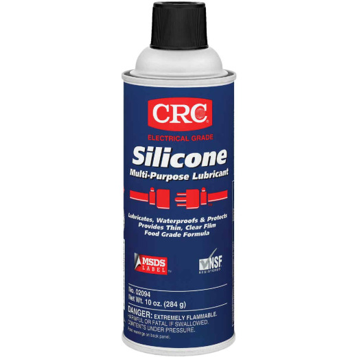 CRC 10 Oz. Aerosol Electrical Grade Multi-Purpose Silicone Lubricant