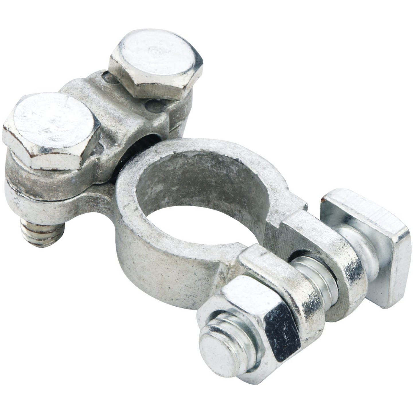 Custom Accessories Top Post Nickel-Plated Battery Terminal Image 1
