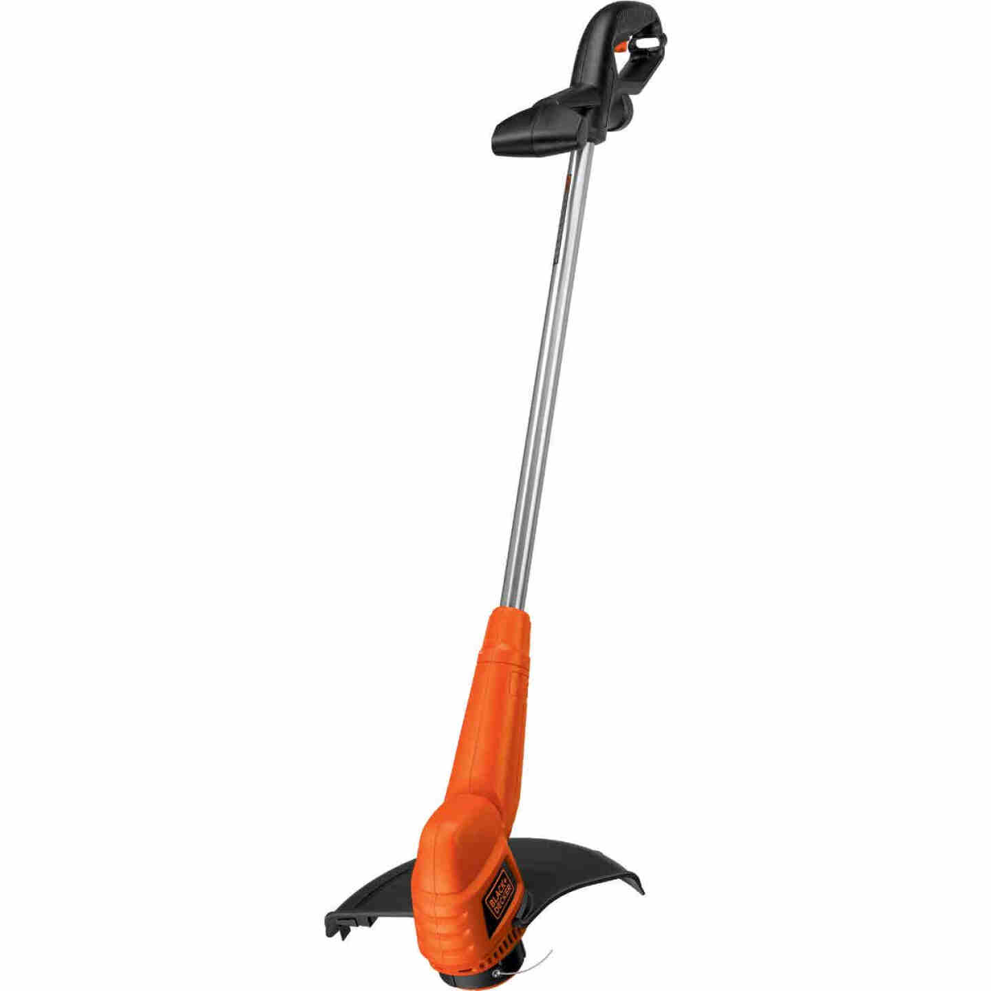 Black & Decker 13 In. 4.4-Amp Straight Shaft Corded Electric String Trimmer Edger Image 1