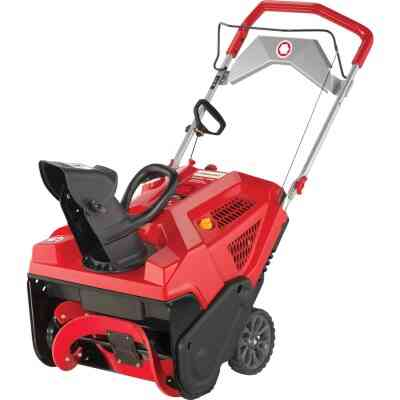 Troy-Bilt Squall 208E 21 In. 208cc Single-Stage Gas Snow Blower