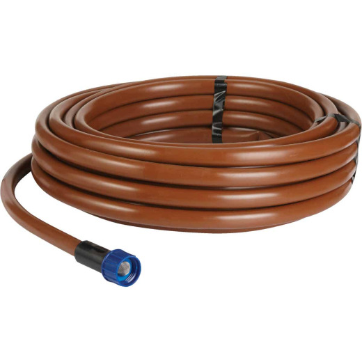 Raindrip 5/8 In. X 50 Ft. Brown Poly Supply Drip Tubing with Fittings