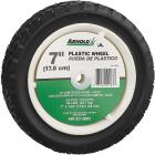 Arnold 7 In. Diamond Tread Offset Hub Wheel Image 1