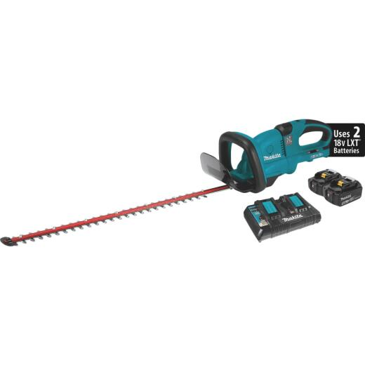 Makita 18V X2 (36V) LXT Lithium-Ion Cordless 25-1/2 In. (5.0Ah) Hedge Trimmer Kit