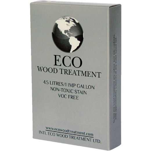 Eco Wood Treatment Exterior Wood Stain & Preservative, 1 Gal.