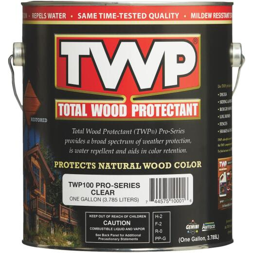 TWP100 Pro Series Wood Protectant, Clear, 1Gal.