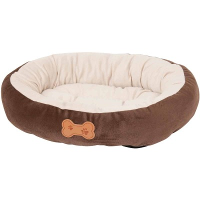 Petmate Aspen Pet 20 In. W. x 16 In. L. Recycled Polyester Fiber Oval Dog Bed